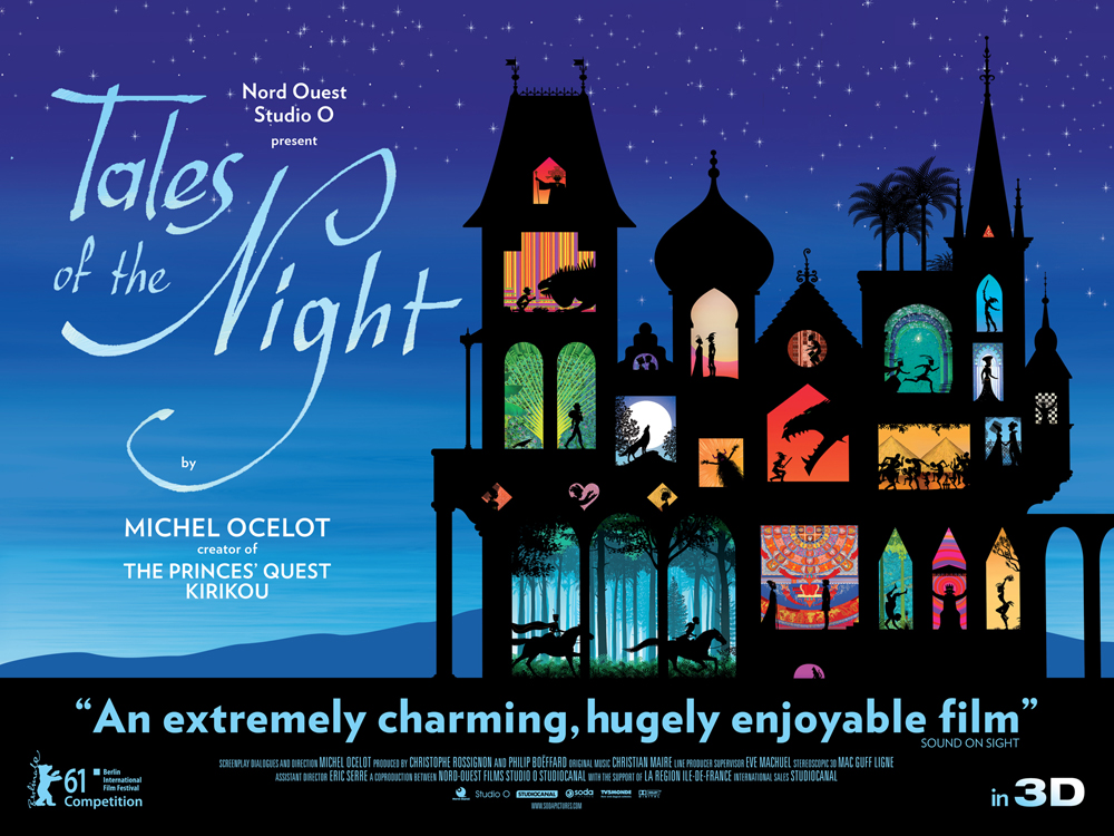 Tales Of The Night UK Quad Poster
