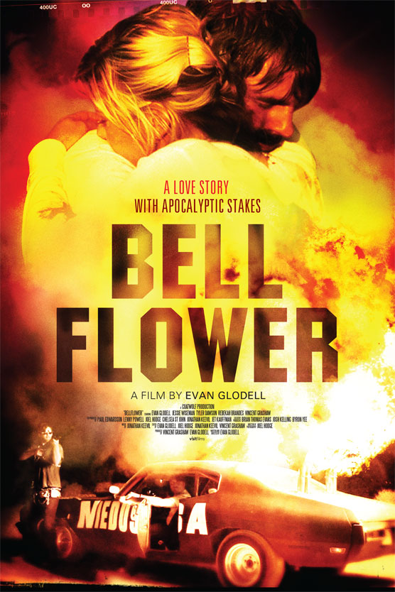 The sales film poster for the movie Bellflower