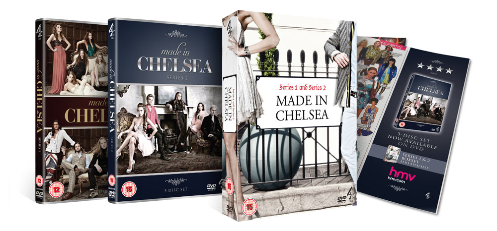 The DVD and Boxset for Made In Chelsea
