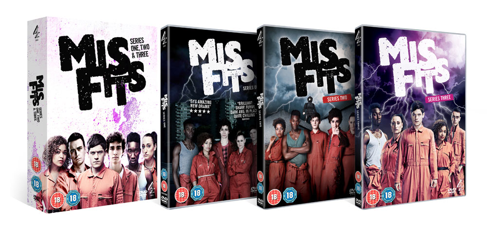 Misfits DVD and Boxset
