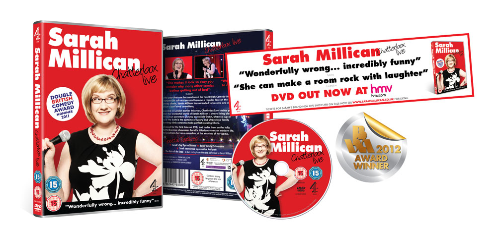 The Comedy DVD by Sarah Millican