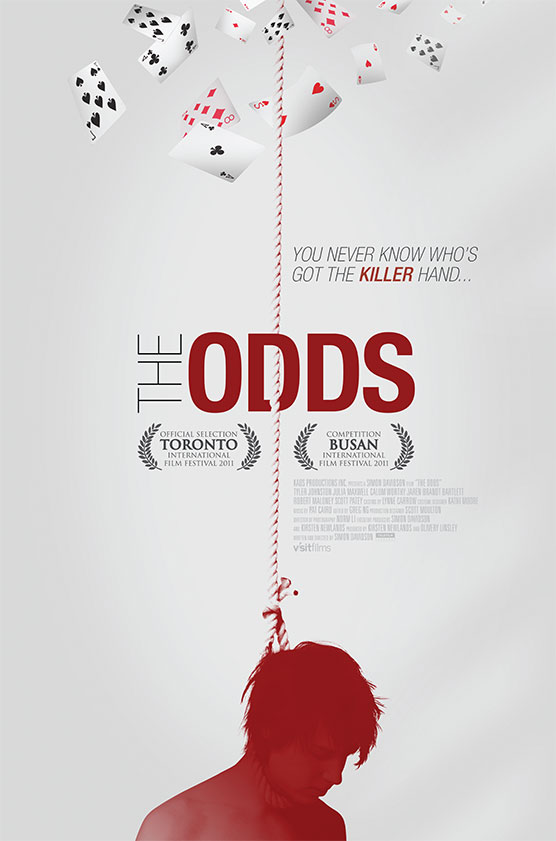 The sales film poster for the movie The Odds