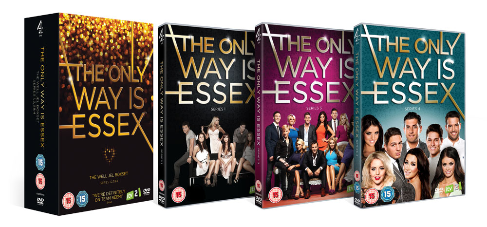 The DVD and Boxset for The Only Way Is Essex