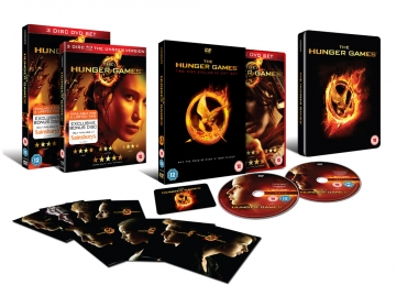 The DVD special packaging design for The Hunger Games