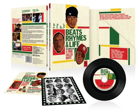 DVD Packaging for Beats Rhymes & Life