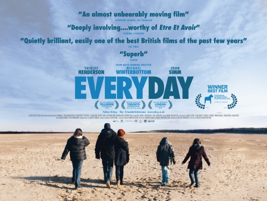 Poster for Michael Winterbottom's film, Everday.