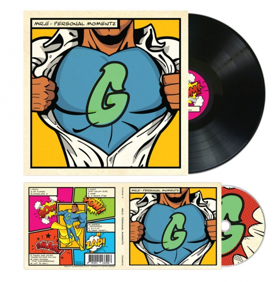 Mr G Personal Momentz Record Sleeve