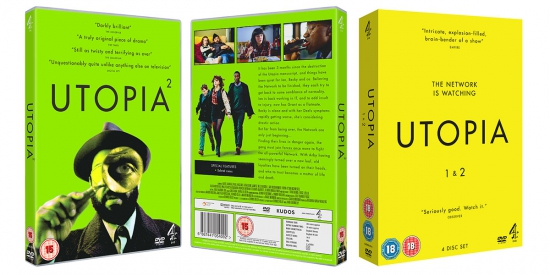 Utopia DVD Sleeve