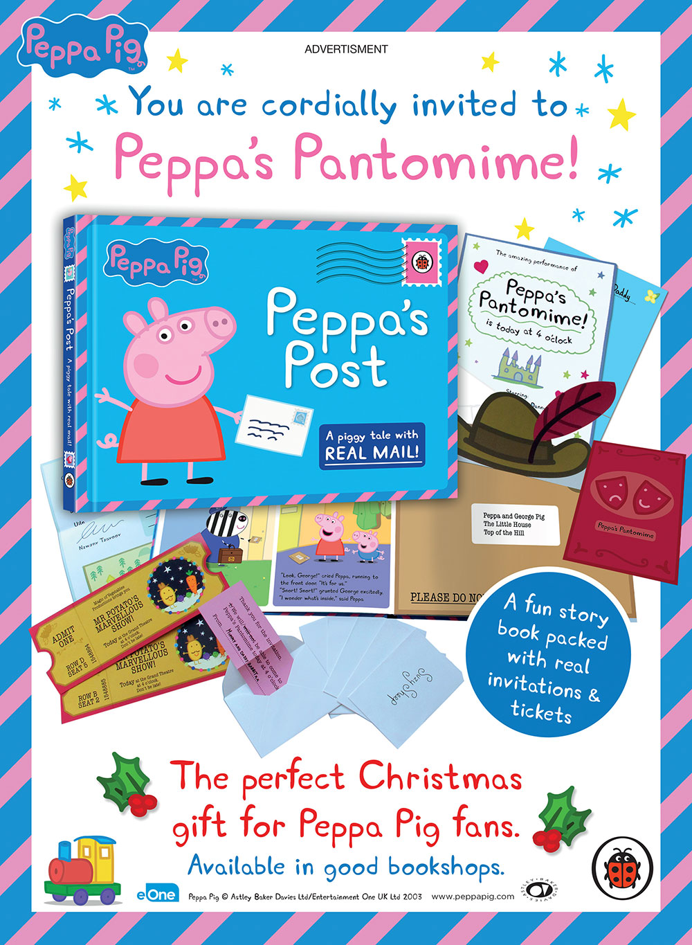 Peppa Pig Peppa S Post Press Ad Name Creative